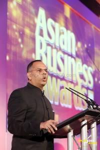 Kalpesh Solanki  publisher and organiser of Asian Rich List & Asian Business Awards 2014