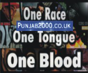 One Race, One Tongue, One Blood