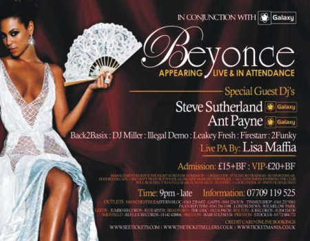 Beyonce Official Concert After party
