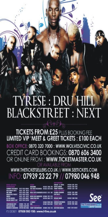 Tyrese Live In Concert