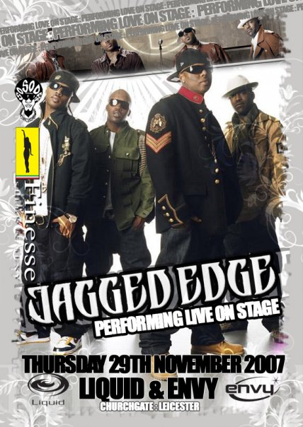 Finesse Presents The Massive RnB Boy Band 'JAGGED EDGE' Live On Stage