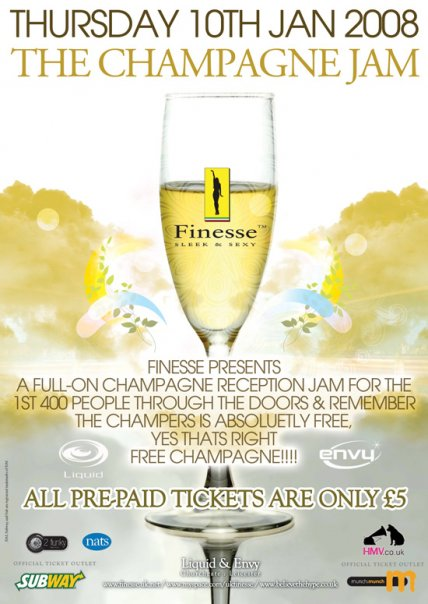 Finesse Presents The Welcome Back Champagne Jam