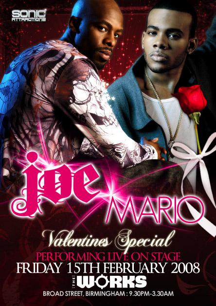 Valentine Specal Live On Stage Joe & Mario