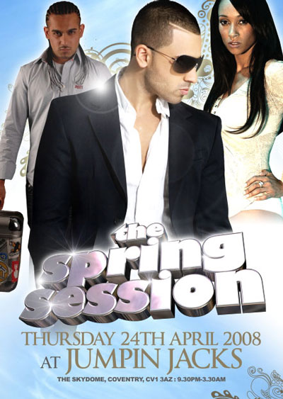 THE SPRING SESSION  @ JUMPIN JACKS THE SKYDOME