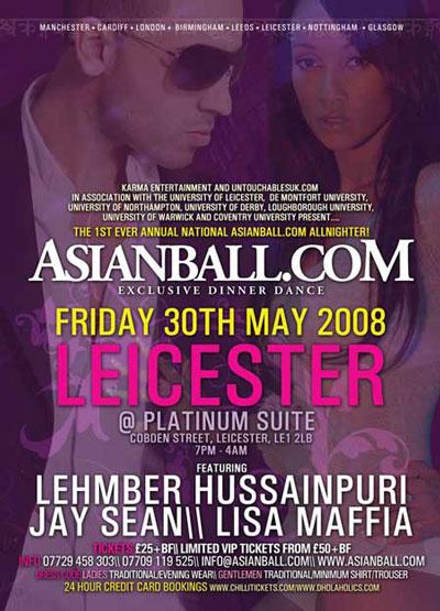 Asianball.com Present Leicester Asian Ball
