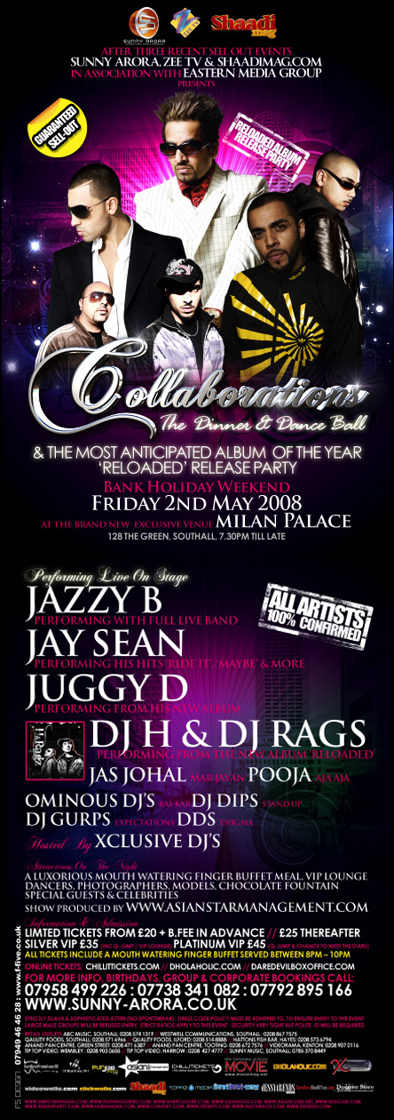 The Most Exclusive Event of 2008 - The Collaborations Ball