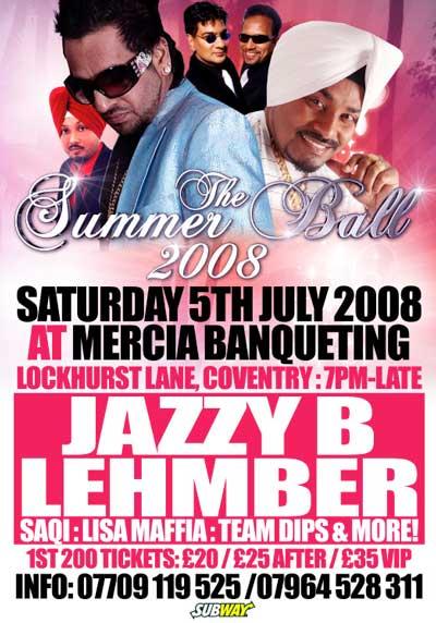 THE SUMMER BALL 2008