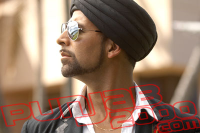 Akshay Kumar in Singh Is Kinng