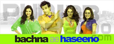 Ranbir Kapoor, Deepika Padukone, Bipasha Basu, Minisha Lamba in Bachna Ae Haseeno