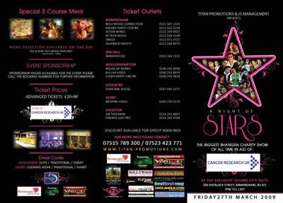 Titan promotions & JS Managment presents: A Night Of Stars