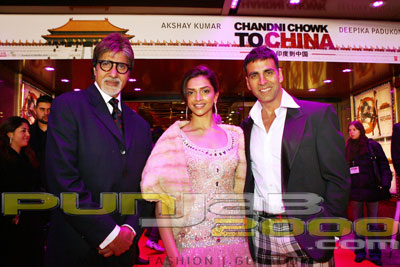Pictures from the Chandni Chowk To China Red Carpet European Premier