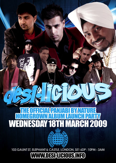 Punjabi Soc Presents... DESI-LICIOUS - THE PBN LAUNCH PARTY