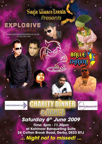 Charity Dinner & Dance Summer '09