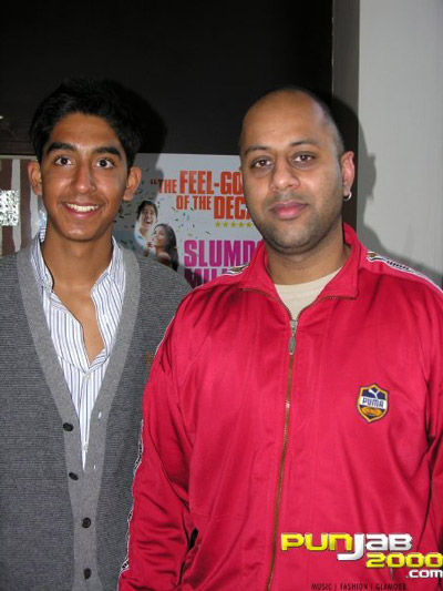 Dev Patel & Baja (Punjab2000.com)