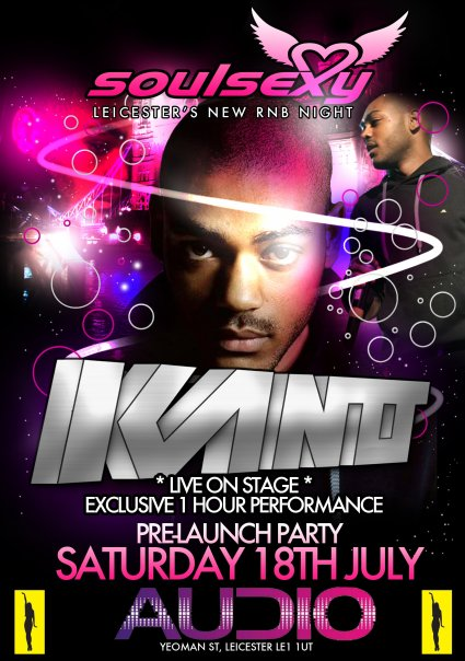 Finesse & Soul Sexy Presents KANO Live On Stage @ Audio Leicester