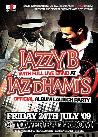 Pictures From The Jaz Dhami Album Launch Party