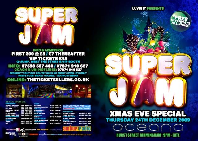 SUPER JAM XMAS EVE SPECIAL
