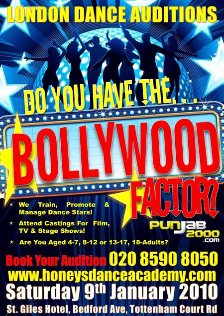 HONEY'S DANCE ACADEMY LAUNCHES SEARCH FOR NEW BOLLYWOOD STARS