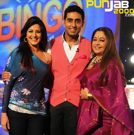 Kirron Kher and Sonali Bendre join Abhishek for 'National Bingo Night on Colors!
