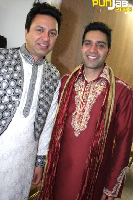 Punjabi Virsa 2010 interview - Manmohan Waris, Kamal Heer and Sangtar With Tony Bains (Photographer Ricky Combo)