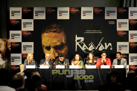 Raavan Press Conference