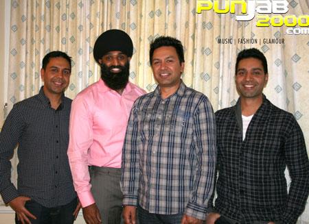 Punjabi Virsa 2010 interview Manmohan Waris, Kamal Heer and Sangtar With Tony Bains