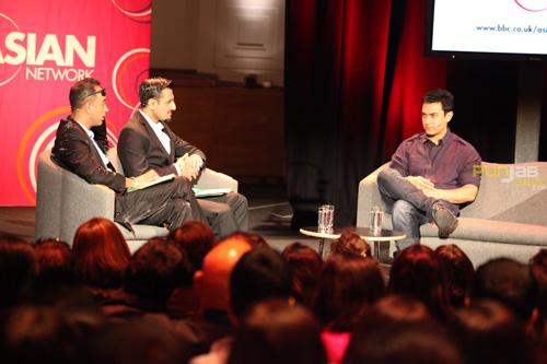 BBC Asian Network's Raj and Pablo speak to Bollywood star Aamir Khan