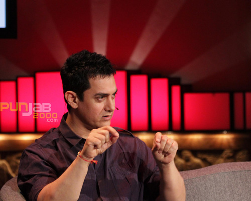 Aamir Khan talks about his career during an interview with BBC Asian Network's Raj and Pablo