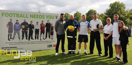 JAZ DHAMI OFFICIAL AMBASSADOR OF NEW FA CAMPAIGN 'FOOTBALL NEEDS'