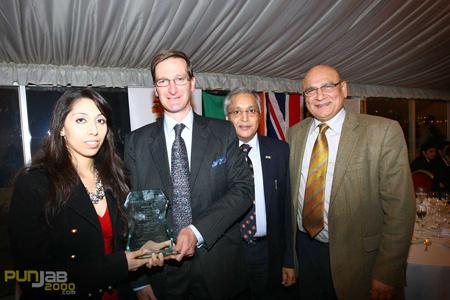 L-R Natasha Mudhar, Rt Hon Dominic Grieve QC MP, Dr Rami Ranger, Mr Ahmad Shahzad