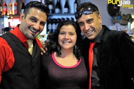 Raj & Pablo with Nina Wadia