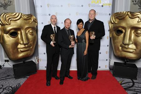 STUNNING KAREN DAVID LIGHTS UP BAFTA RED CARPET