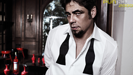 The Campari Calendar 2011 starring Oscar winning actor Benicio Del Toro