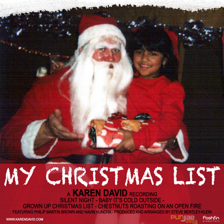 KAREN DAVID WANTS TO SHARE HER CHRISTMAS LIST WITH YOU!