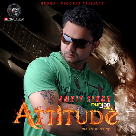Amrit Singh with Attitude…..the art of living.