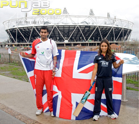 England Sports Stars Back British Asian Sports Stars ahead of London 2012