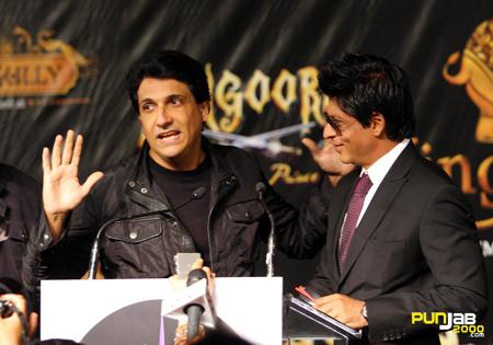 Kingdom of Dreams with Shiamak Davar & Shah Rukh Khan