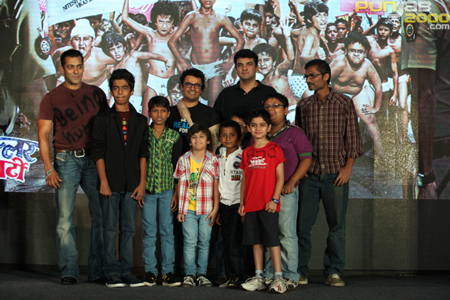 """Salman Khan Being Human (SKBH) Productions' first co-production, """"Chillar Party"""", will be the opening film of the IIFA Film Festival to be held in Toronto."""