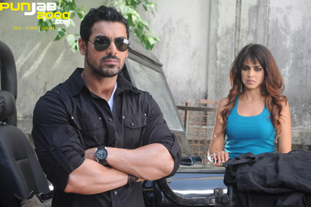 John Abraham and Genelia D'Souza in Force