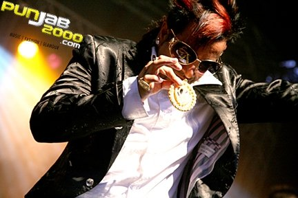 Jazzy B performing at the London Mela