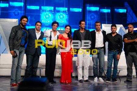 Music director Shekhar Sunil Lulla - MD Eros International Media Ltd SRK Kareena Kapoor Arjun Rampal Director Anubhav Sinha Bhushan Kumar - CMD