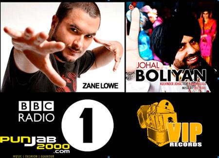 Johal Boliyan on on Zane Lowes BBC Radio 1 show!