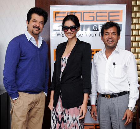 Anil Kapoor, Sonam Kapoor, Mr Mudhit Gupta