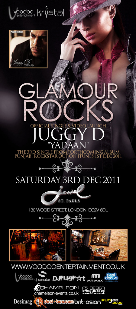JUGGY D Launch Party this Saturday!