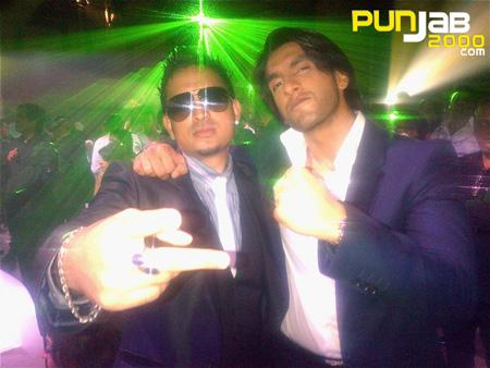 Ranveer Singh with Parichay