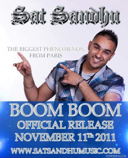 Sat Sandhu - Boom Boom - OFFICIAL VIDEO