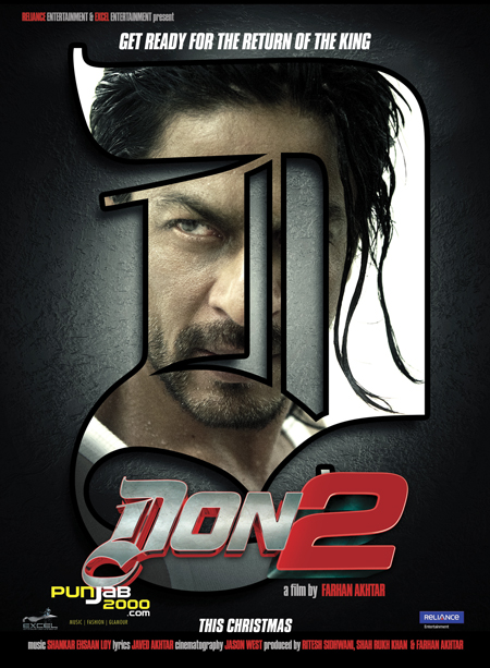 SHAHRUKH KHAN'S TREATS EUROPEAN FANS THIS CHRISTMAS WITH DON 2 HITTING THE UK SCREENS BEFORE ITS INDIA RELEASE!