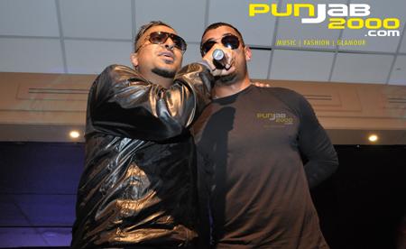 Garry Sandhu &Roach Killa performing
