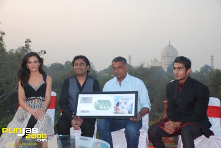 Amy Jackson, AR Rahman, Gautham Vasudev Menon & Prateik