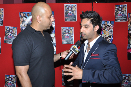 Bups Saguu interview at the Brit Asia TV Awards 2011